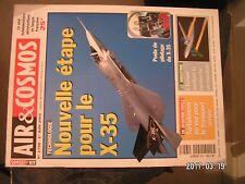 ** Air & Cosmos n°1798 Nouvelle étape pour le X-35 / Fire Scout / GP7200