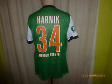 Werder Bremen Nike DFB-Pokal Matchworn Trikot 2009/10 + Nr.34 Harnik Gr.L
