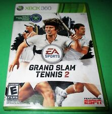 Grand Slam Tennis 2 Microsoft Xbox 360 *Factory Sealed! *Free Shipping!