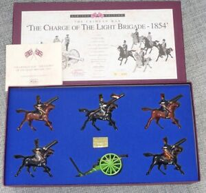 William Britains Charge of the Light Brigade 1854 Limited Edition Set 5197