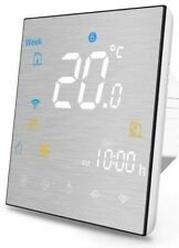 Handsfree Wifi Smartcolor Home Thermostat. Programmable Touchscreen. Alexa