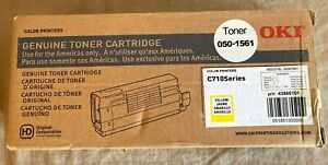 NEW Sealed Okidata C710 Series YELLOW Toner Cartridge (050-1561) P/N 43866101