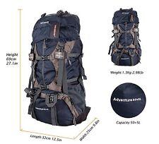 Travel Hiking Backpack Outdoor Sport 55L Bag Trekking Camping Climbing Rucksack