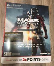 Rare - Mass Effect Andromeda 28X24 Cardboard Poster