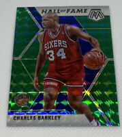 C35 2019-20 Panini Mosaic Charles Barkley Hall Of Fame Green Prizm Mosaic #282