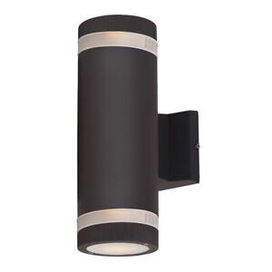 Maxim Lighting Lightray 2 Light Wall Sconce, Architectural Bronze - 6112ABZ