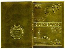 1836 - 1936 Cleveland Ohio Centennial Great Lakes Exposition Little Golden Book