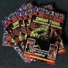 DC 100 PAGE COMIC GIANT SWAMP THING HALLOWEEN HORROR #1 Walmart Exclusive NM