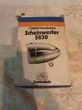 Oldtimer Scheinwerfer Union Fröndenberg 5830, nie montiert,mit Original Karton