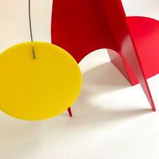 Espectacular escultura Rojo-mediados siglo moderno estilo arte cinético Stabile hecho a mano