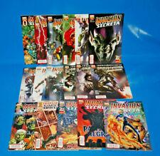 Lote de Comics INVASION SECRETA 2008-2009 diferentes series muy buen estado