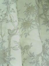 Ralph Lauren Cortina Tela Marlowe Floral 0.9m Platino Lino no transparente 90cm