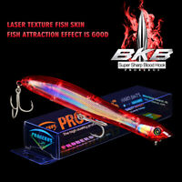 """1PC Floating Popper Fishing Lure 5""""-0.67oz Artificial Hard Bass Bait Fish Tackle"""