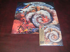 MOODY BLUES QUESTION OF BALANCE AUDIOPHILE JAPAN REPLICA 02 OBI CD + 180 GRAM LP