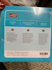 "Stampin' Up! Prints Paper Pack, 60 - 6"" x 6"" Designer Series Patterns Retired F8"