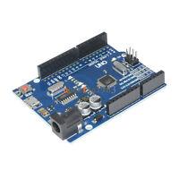 2PCS Version Arduino UNO R3 ATMEGA328P-16AU CH340G Micro USB Board
