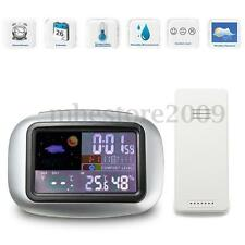 LCD Digital Indoor/Outdoor Wireless Weather Station Clock Thermometer Hygrometer