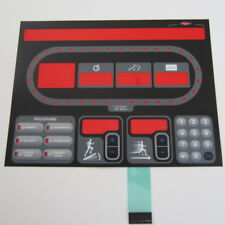 Star Trac E-TR GEN 1 Treadmill Replacement Overlay/Keypad
