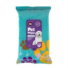 50Pk Pet Hygiene Dog Puppy  Cleaning Wet Wipes Ear Paw Body Head Grooming