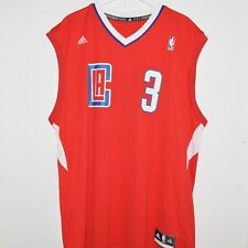 Adidas Chris Paul #3 CP3 LA Clippers Basketball Jersey XXL Red