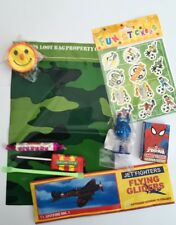 Army,  party bags pre filled, toys and sweets , fast post