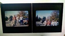 Red Kodachrome slides Passaic Country Club October 1954