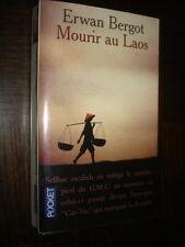 MOURIR AU LAOS - Erwan Bergot 1997 - Poche