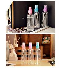 100ML Clear Empty Plastic Perfume Atimizer Spray Bottle Transparent For Travel+
