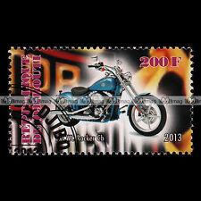 ★ HARLEY DAVIDSON FXCWC ROCKER C ★ Timbre Moto 2013 / Motorcycle Stamp #217
