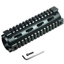 "Carbine Length 6.7"" Handguard Picatinny Quad Rail Black"