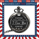 Engraved antique pocket watch for Men Who Have Everything Birthday Gifts