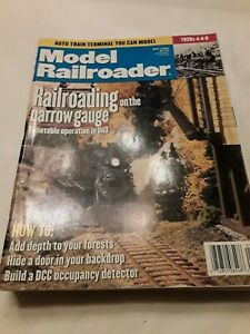 Model Railroader Magazine. Assorted months and years. (O/HO11420)