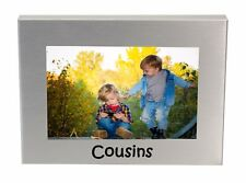 "Cousins Photo Picture Frame Gift 6"" x 4"""