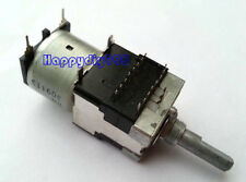 1PC ALPS RK168 100K Potentiometer Rotary Motor-driven Quad Metal shaft Remote