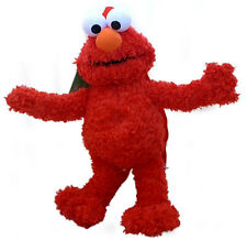 Sesame Street Elmo Plush Doll Backpack Red Muppet Stuffed Toy Bag Licensed NEW