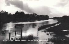 D7537 LA, New Iberia Bayou Teche Photo Postcard