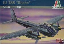 Italeri 1/72 JU-188 Rache Luftwaffe Fighter Model Kit  # 1117