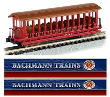 "BACHMANN 19399 VAGONE PASSEGGERI ""Jackson Sharp Open"" per ESCURSIONI BOX SCALA-N"