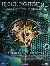 UNDERGROUND Affiche Cinéma / Movie Poster EMIR KUSTURICA