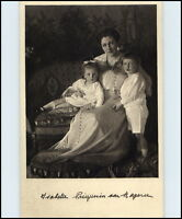 Adel & Monarchie ~1910 Prinzessin von Bayern Spende Säugling Kleinkinderschutz