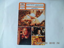 CARTE FICHE CINEMA 1994 HEAVENLY CREATURES Melanie Lynskey Kate Winslet