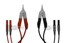 Test Lead Kelvin Clip to Banana Plug 4-Channel 3 feet (#999-007)