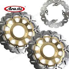Fits Honda CBR929RR CBR RR 929 929RR 2001 2000 Front Rear Brake Disk Rotors Disc
