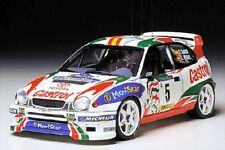 Tamiya 24209 1/24 Model Car Kit Toyota Corolla WRC '98 Monte Carlo Rally C.Sainz