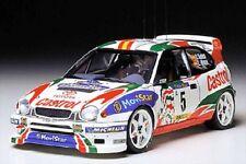 Tamiya 24209 1/24 Model Car Kit Toyota Corolla WRC '98 Monte Carlo Rally C.Sainz