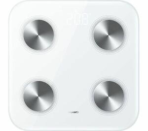 HUAWEI Smart Scale 3 WiFi & Bluetooth Body Fat BMI Weight Scale - White