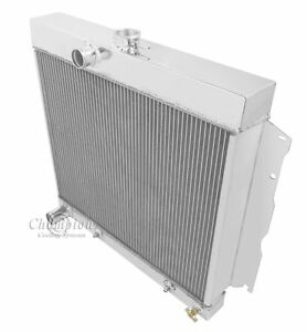 "1964 1965 1966 1967 1968 1969 Coronet 3 Row Champion DR Radiator ( 22"" Core )"