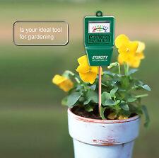 Soil Moisture Meter | Indoor/Outdoor Plant Monitor Humidity Hygrometer Sensor