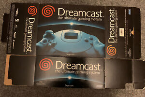 Sega Dreamcast Sony PS2 Console Box Lot