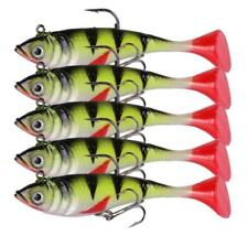 5PCS Soft Fishing Lures Jig Head Swimbait Wobblers Silicone Jigging Soft 18g